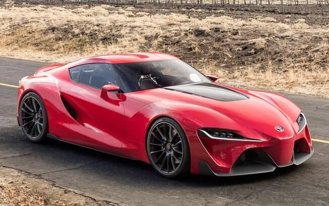 O conceitual FT-1 já dava sinais, em 2015, de que o Toyota Supra estaria por retornar