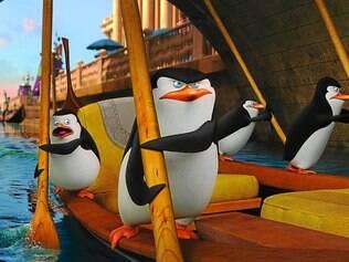 """""""Os Pinguins de Madagascar"""".   Animação deve seguir a fórmula de """"Madagascar"""" e """"Kung Fu Panda"""""""