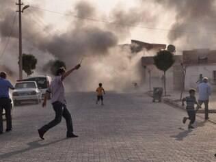 A guerra civil na Síria deixou mais de 36 mil mortos