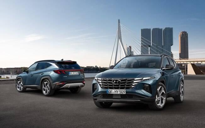 Novo Hyundai Tucson: estilo arrojado e versões eletrificadas entre os principais destaques da nova geração