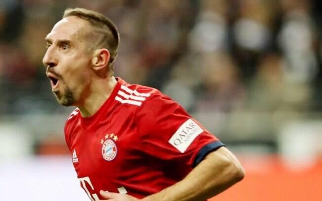 Franck Ribéry é um dos maiores nomes do Bayern de Munique