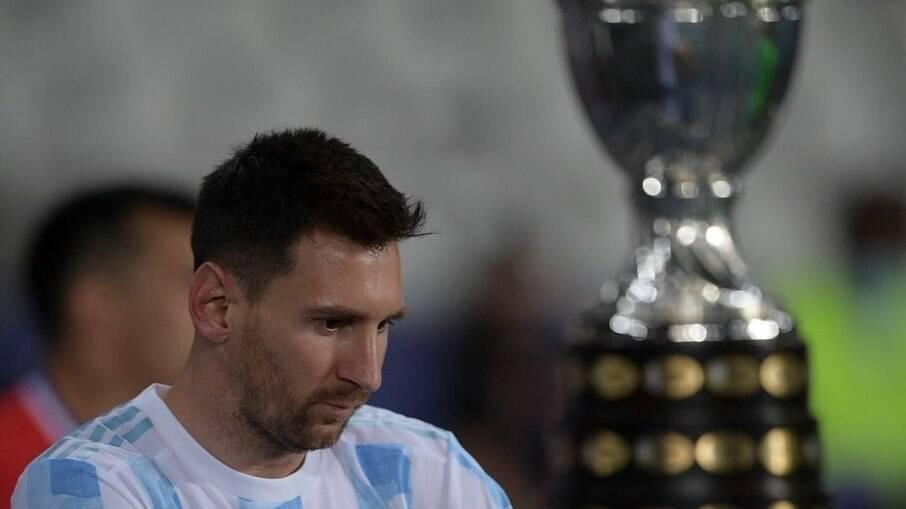 Argentina encara o Uruguai pela Copa América