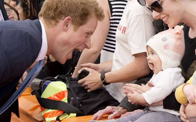 Fotografia do príncipe Harry tirada por Tim Rooke na Nova Zelândia