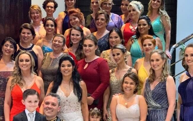 Claudia Rodrigues em casamento