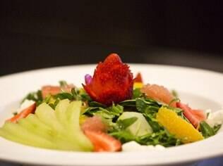 Pratos atrativos e bem finalizados são destaques no menu da casa de repouso The Merion