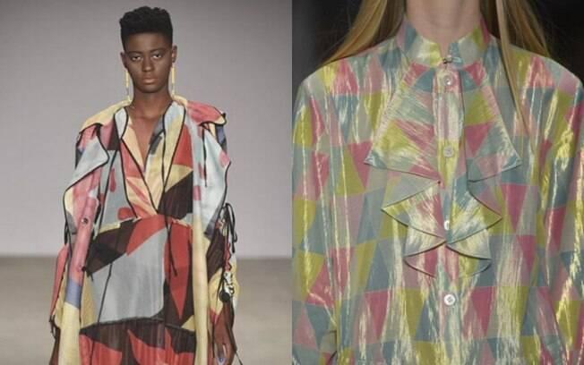 As estampas diversas apareceram nos looks da SPFW e levaram cor à passarela do maior evento de moda do Brasil