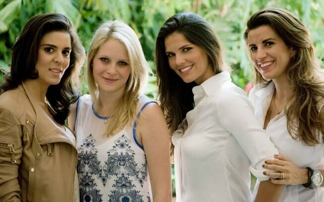 Giovanna Lamastra, Juliana Dale, Daniela Sarahyba e Ana Claudia Andrade