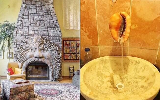 Criado pela designer de interiores Dina Holland, o perfil reúne ideias de decoração ruins ou mal-executadas