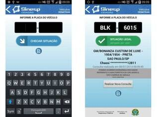 Disponível para Android, aplicativo Sinesp Cidadão dá acesso a informações de pessoas desaparecidas, veículos roubados e mandados de prisão em aberto