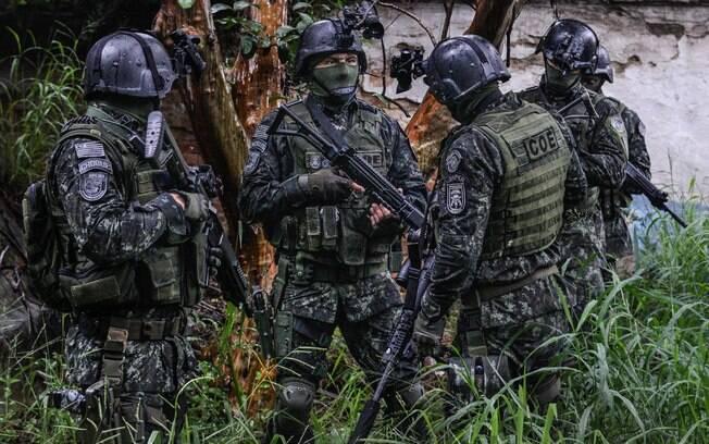 Treinamento de operações urbanas: uma das funções do COE é a retomada e controle de rebeliões em penitenciárias
