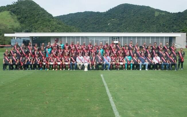 Foto oficial do Flamengo para o Mundial de Clubes