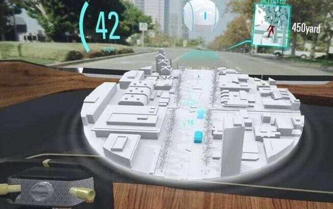 Nissan quer usar a realidade virtual aumentada no CES 2019  para facilitar ã condução do veículo