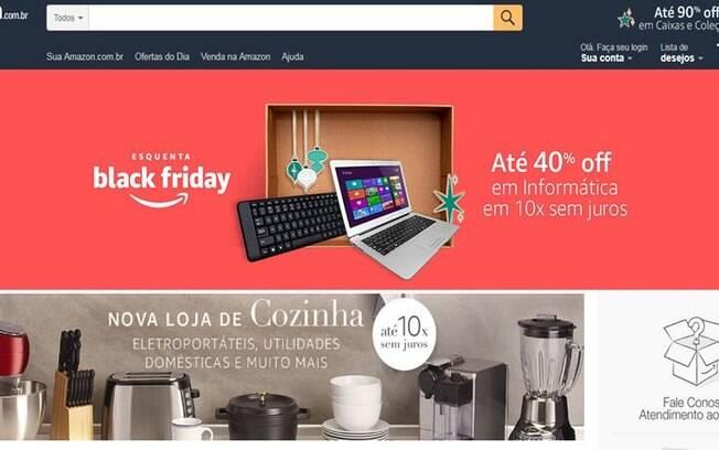 Amazon passa a ofertar produtos para casa e cozinha em seu site no Brasil; veja mais essa novidades da varejista
