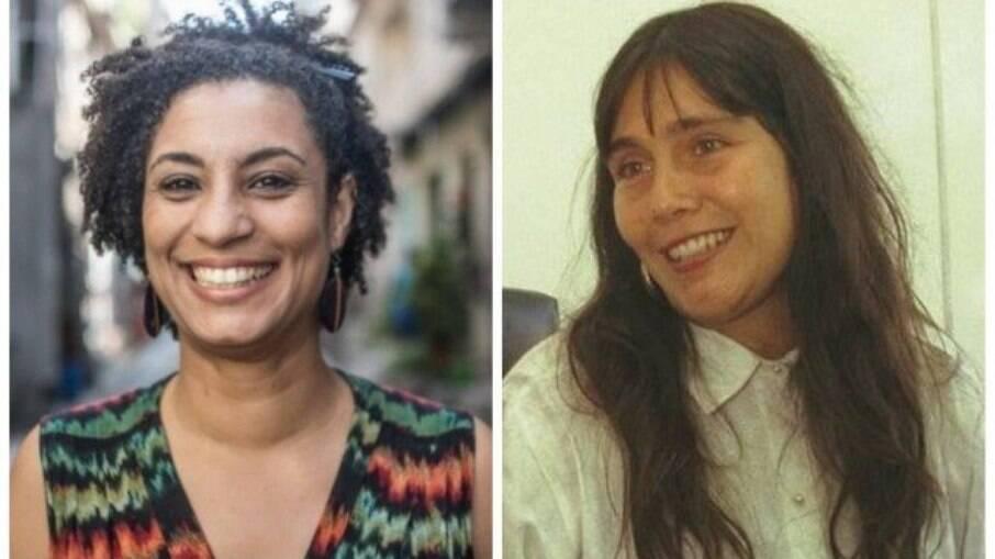 A vereadora Marielle Franco e a juíza Patricia Acioli: mortas com munição de forças de segurança