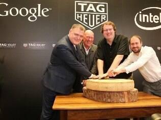 TAG Heuer, Google e Intel anunciaram colaboração para criar um relógio inteligente