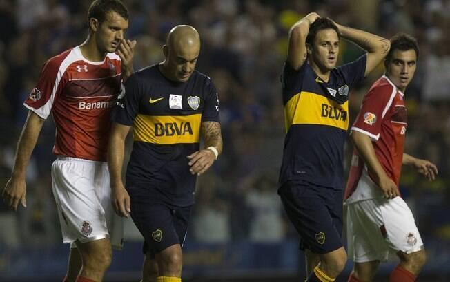 Boca Juniors perde de virada na estreia da  Libertadores