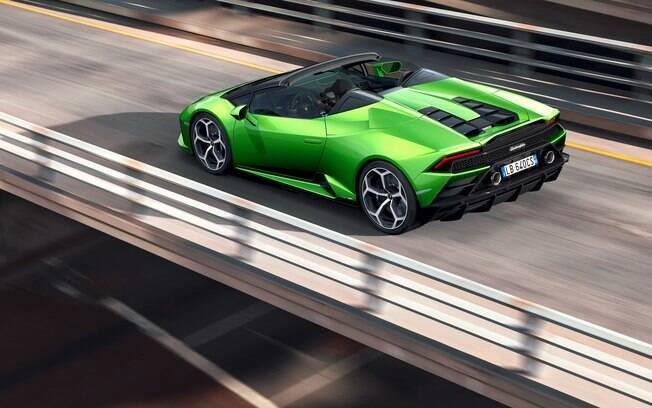 Lamborghini Huracan Evo Spyder também marca presença no Salão de Genebra 2019