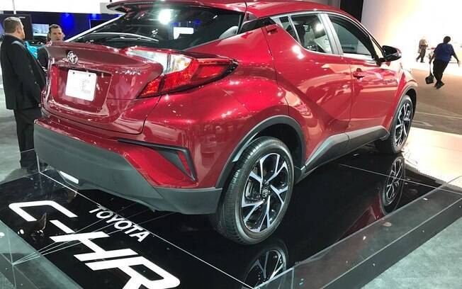 SUV  chama atenção pelo estilo arrojado, seguindo o estilo do protótipo que esteve no Salão do Automóvel, em São Paulo