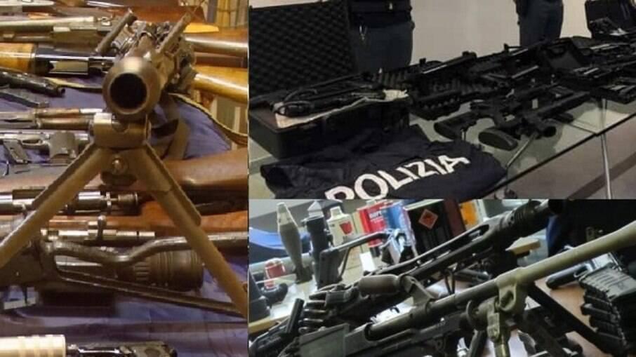 Operação encontrou fuzis e metralhadoras, rifles, minas antitanque, granadas, detonadores e silenciadores