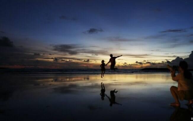 Bali é um dos principais destinos para turistas estrangeiros na Indonésia
