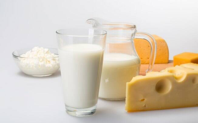 Alimentos e exercícios: leite e derivados são fonte de cálcio para o organismo