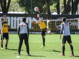 Jogadores do Atlético fizeram um treino recreativo neste sábado