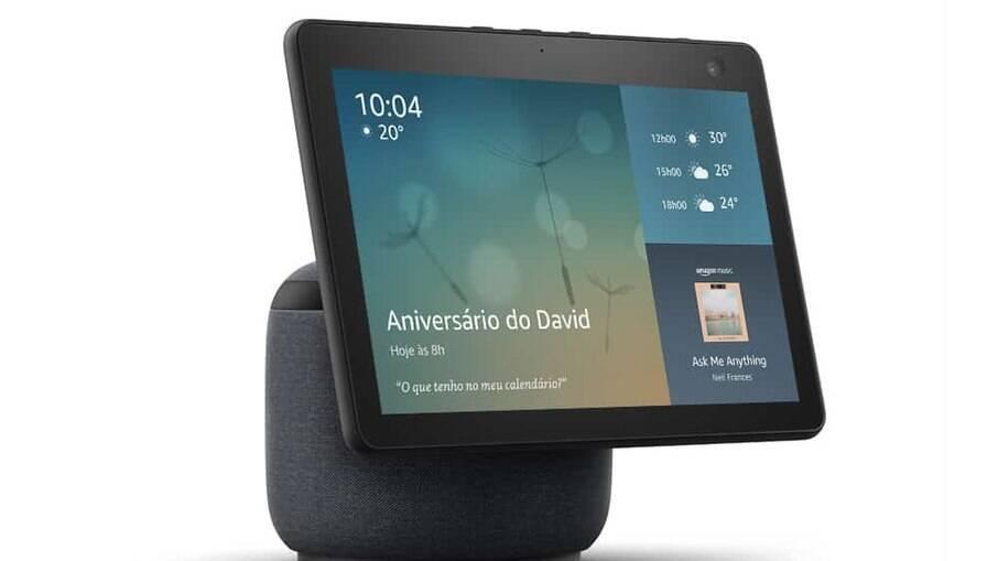 Amazon Echo Show 10 chega ao Brasil