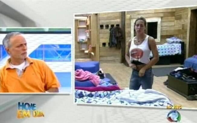 Pai de Joana não poupou críticas a Gui Pádua, desafeto da personal trainer na casa