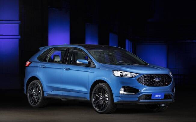 O Ford Edge ST foi uma das atrações do Salão do Automóvel do ano passado, ao lado do novo SUV Territory