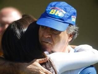 Esportes - Belo Horizonte - MG Ultimo treino do Cruzeiro no Mineirao antes do jogo contra o River Plate   FOTO: FERNANDA CARVALHO / O TEMPO - 26.05.2015