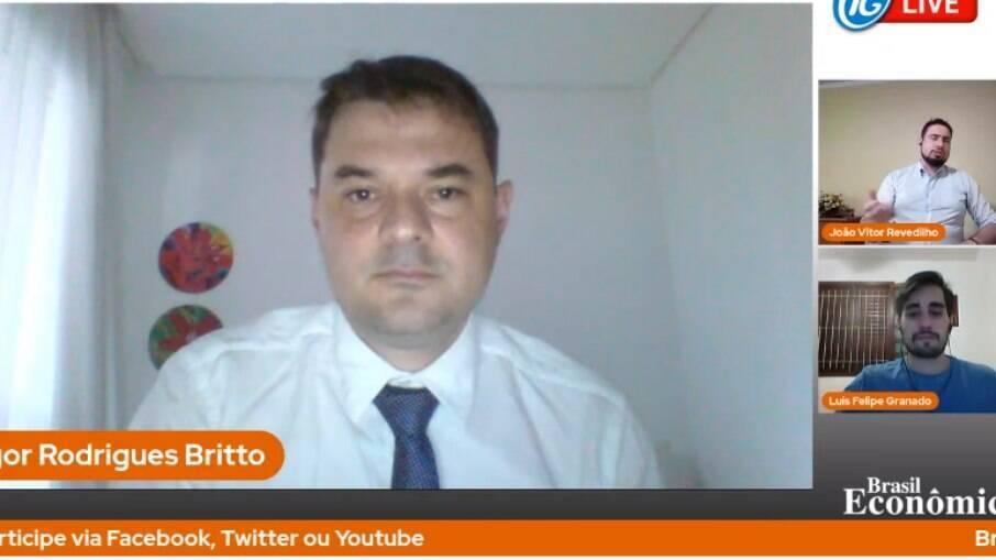 Igor Britto, diretor de relações institucionais do Idec, foi o condidado da live do Brasil Econômico desta quinta-feira (22)