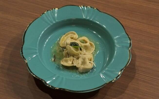 Receita de capeletti recheado com ricota e nozes foi destaque no terceiro episódio de Masterchef