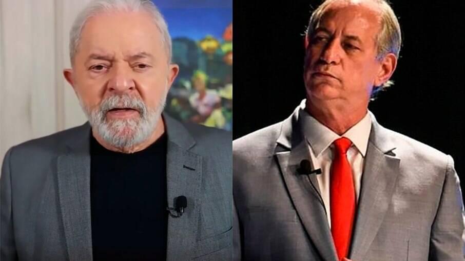 Lula e Ciro Gomes