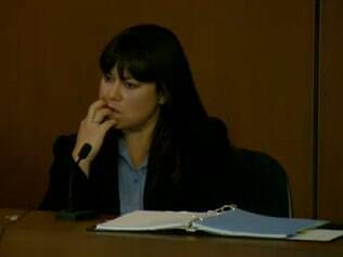 A médica legista Elissa Fleak em seu depoimento