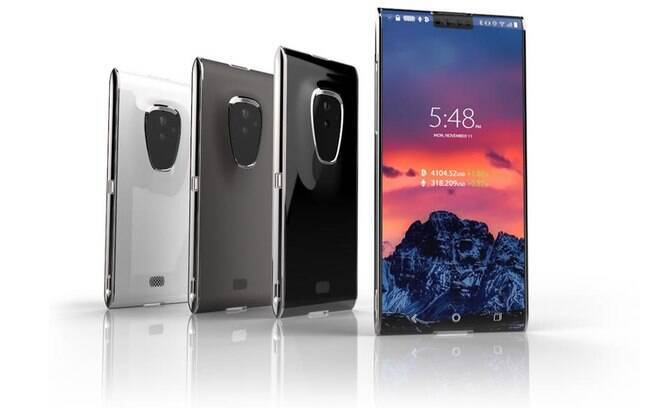 A linha de dispositivos Finney da empresa, como o smartphone serão capazes de compartilhar dados e energia da bateria