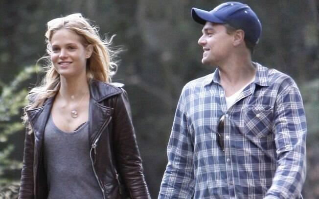Leoanrdo DiCaprio e a nova namorada Erin Heatherton