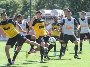 Fim da festança! Jogadores do Atlético estão de volta aos treinamentos
