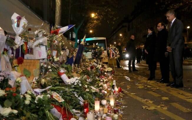 Ao todo, 130 pessoas morreram em Paris nos ataques de novembro. Foto: Élysée – Présidence de la République Française