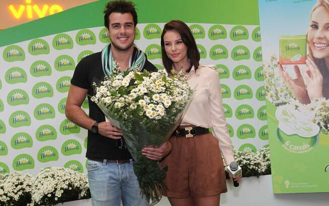 Joaquim Lopes e Paola Oliveira