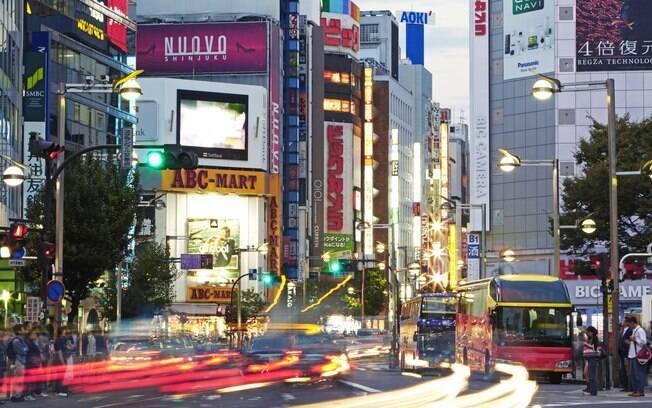 Modernidade e tradição se misturam em Tóquio