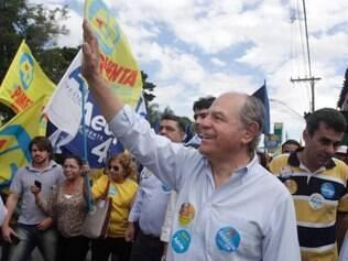 O candidato também reiterou o compromisso de construir o Rodoanel Sul e o Rodoanel Norte