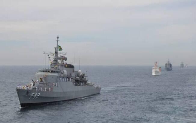 Fragata Constituição é um dos navios comprados do Reino Unido durante a ditadura militar