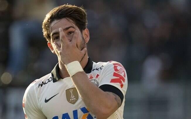 Alexandre Pato é um dos representantes do  Corinthians no Bom Senso FC