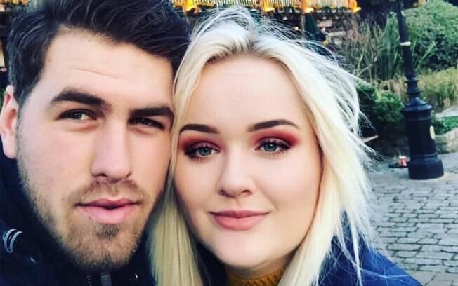 Amyleigh diz que o namorado estava 'confiante' em mostrar as habilidades em cortar cabelo, mas o resultado foi desastroso