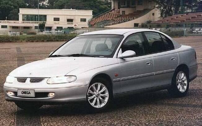 Chevrolet Omega (australiano) é outro entre os carros de presidentes. O sedã da foto era fabricado na Austrália