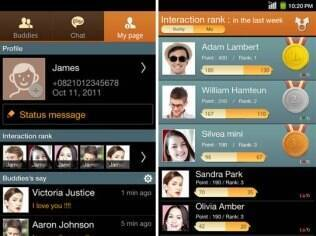 Serviço de mensagens da Samsung, o ChatOn