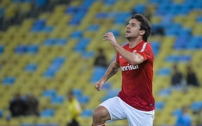 Scocco fez seus dois primeiros gols com a  camisa do Inter