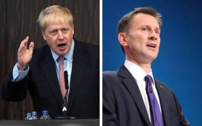 Johnson e Hunt vão para votação final, que irá decidir quem será o próximo premier britânico