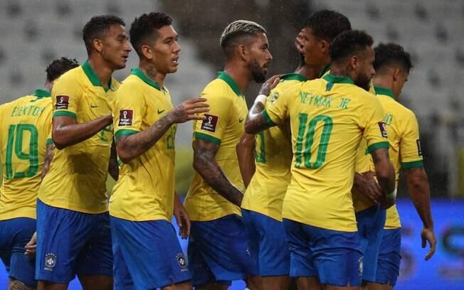 Brasil arrasa a Bolívia e estreia com goleada nas Eliminatórias