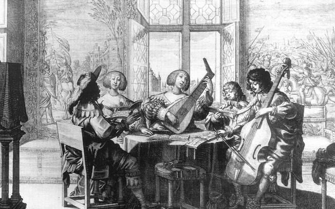Representação da música no período do classicismo